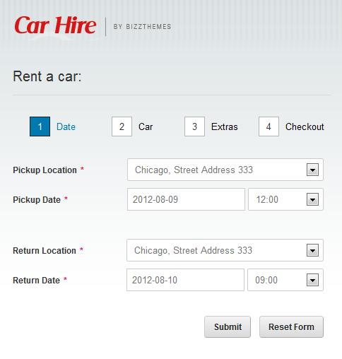 Car Hire - an Upcoming BizzTheme For Car Rental Agencies – BizzThemes™