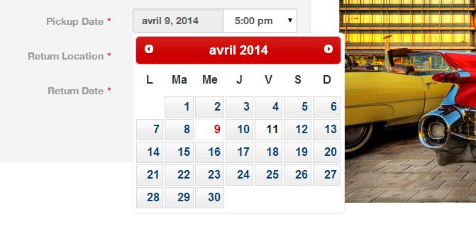 Calendar translation